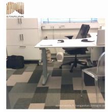 tapis de plancher tissés par PVC sans fil de danse auto-adhésive pour la maison