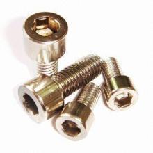 Pièces d'usinage à vis à précision en acier inoxydable