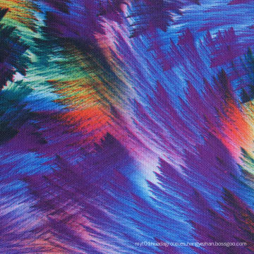 Poliéster Oxford 600d de alta densidad PVC / PU cepillos de tela de impresión