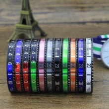 Good Quality for Men'S Stainless Steel Bangle Mens Stainless Steel Black Speedometer Bangle Bracelet export to Italy Factories