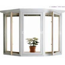 Fenêtre coulissante verticale simple de fenêtre de PVC