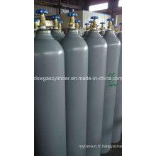 Cylindre de gaz à argon sans soudure haute pression Hiqh