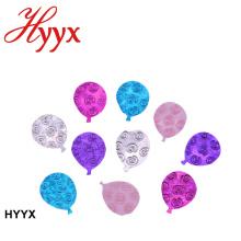 HYYX wedding party decoración pvc material al por mayor oro rosa boda confeti