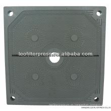 Placas de filtro de membrana de prensa de filtro Leo