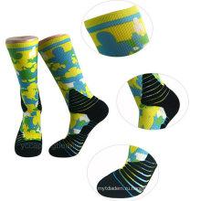 Оптовая новая мода 3D печатных носки женщин фото