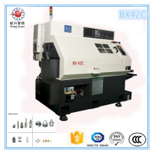 China Shangha Diameter 42mm Mazak Swiss Type Metal CNC Lathe with Milling Machine Combo