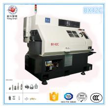 Bx42 Универсальный высокое качество 4 оси мини Автоматический токарный станок с ЧПУ для продажи
