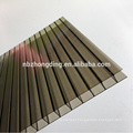 4mm/6mm/8mm/10mm/12mm/16mm colored polycarbonate hollow sheet for roofing