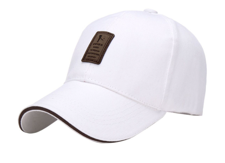 Leather Patch Golf Cap