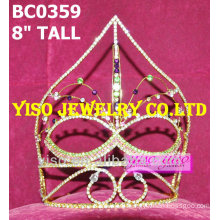 crystal mask pageant tiaras
