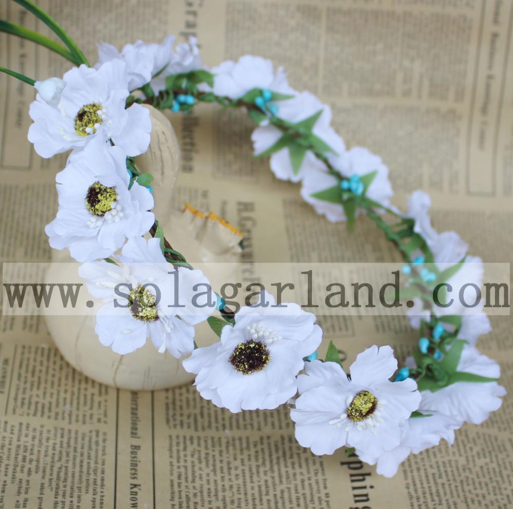flower crown for wedding daisy headbands