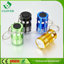 Tragbare Mini-Taschenlampe Fackel 9 LED Mini LED Taschenlampe keychain