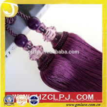 2016 Fashionable Acrylic Polyester Tassel Tieback for Curtain