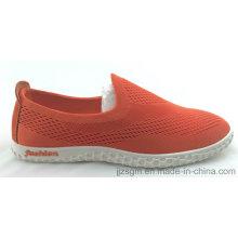 Casual Slip-on Flyknit sapatos para homens e mulheres