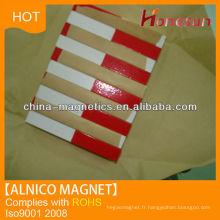 Bloquer la poudre magnétique alnico LNG37 F4x6x28