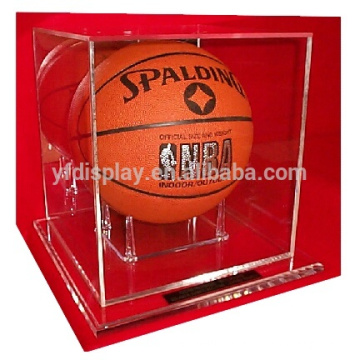 acrylic display box for advertising in clear and black color