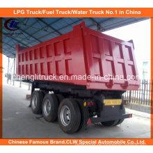Heavy Duty Tri-Achse 40ton End Kipper / Dump Truck Trailer