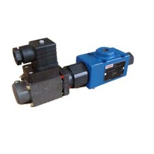 Proportional valve with  pilot-operated