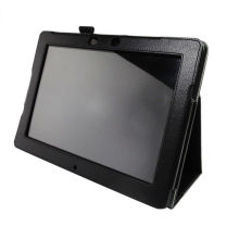 White Tablet Pc Accessory For Asus Me301 Leather Flip Cover