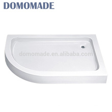 High quality acrylic stone resin artificial stone composite shower pan
