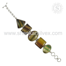 New Spectacular RMS Gemstone Bracelet 925 Sterling Silver Jewelry Handmade Online Jewelry