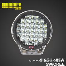 Auto lighting system 12v led work lamp 185W round led driving light led off road light for ATV,UTV,TRUCK