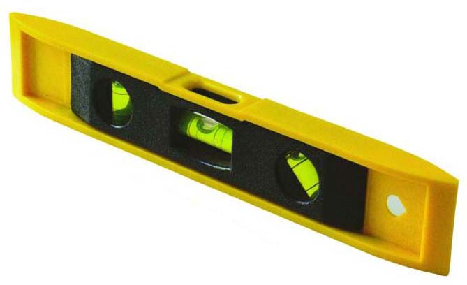 "6"" 9""Plastic Torpedo Spirit Level"