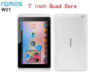 Free shipping 7 inch  Ramos w21 Actions ATM7029 ARM Cortex A9 Quad Core Tab pc 1G RAM 8G Flash 1280x800 IPS WiFi Tablet PC
