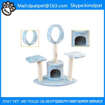 Dauerhafter dekorativer lustiger Katzen-kletternder Baum