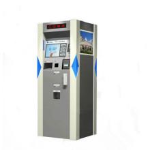 Distributeur de carte de Cagnetic de kiosques de paiement d'affichage à cristaux liquides de 15 pouces