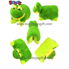 38cm Soft Plush Frog Pet Pillow Stuffed Cushion