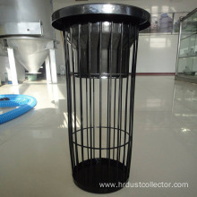 Trapezoid bag cage frame of dust collector