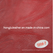 Wrinkle Imitation Cow Leather for Sofa
