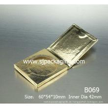 Grünes Papier Kosmetikpapier Papier Lidschatten Fall Papier lose Pulver Fall Papier kompakte Pulver