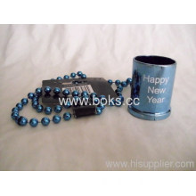 Plastic Bead Chain And Cup With Handle