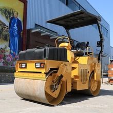 Ride on 3 Ton Tandem Drum Asphalt Roller for Sale (FYL-203H)