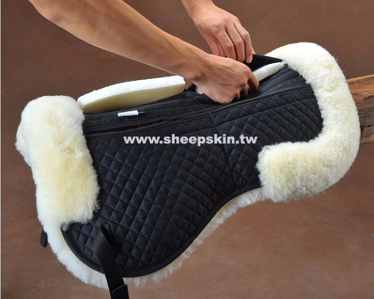 Half Hose Saddle Pad With Pocket