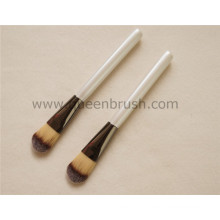 Best Quality White Handle Synthetic Foundation Makeup Brush