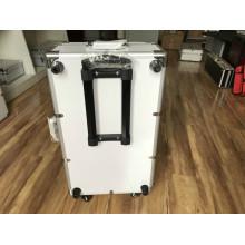Flight-case en aluminium robuste avec pour équipement