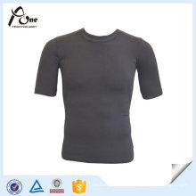 T-shirt sem emenda ocasional ocasional do Sportswear dos homens por atacado