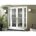 CE Glass glazed French Solid wood door