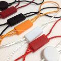 Красный Custom напечатаны крафт-бирки