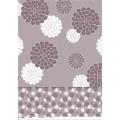 Venda quente Personalizado Impresso Toalha De Mesa De Plástico com Não Tecido / Tecido de Apoio de Alta Qualidade LFGB