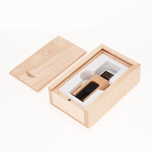 Wood pendrive Portable wooden usb 2.0 pen drive