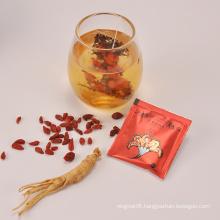 China goji ginseng men enhancer tonic herbal sex tea for men