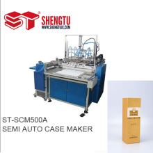 BOX Semi-automatique Case Maker Machine