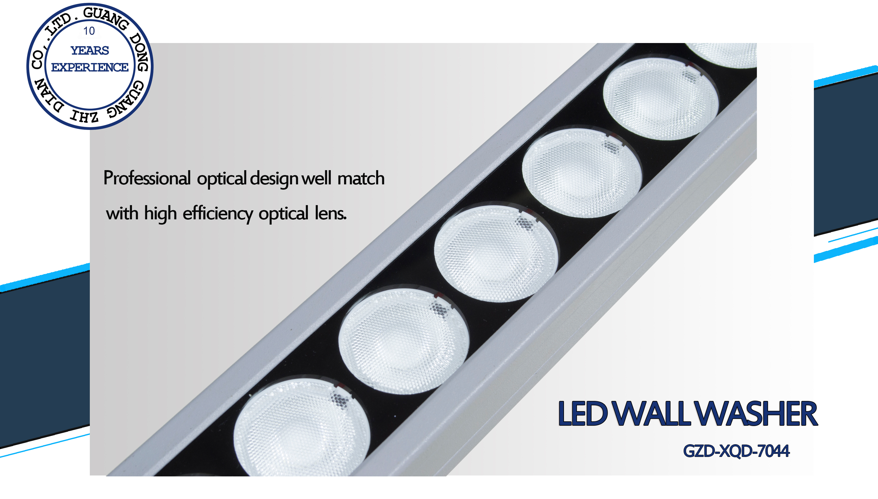 3 led wall washer-