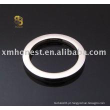 Anel oval de saco de medição plana
