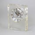 2017 nouveau design cristal verre numérique prière bureau horloge
