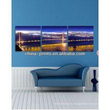 Новый холст знаменитого моста для печати